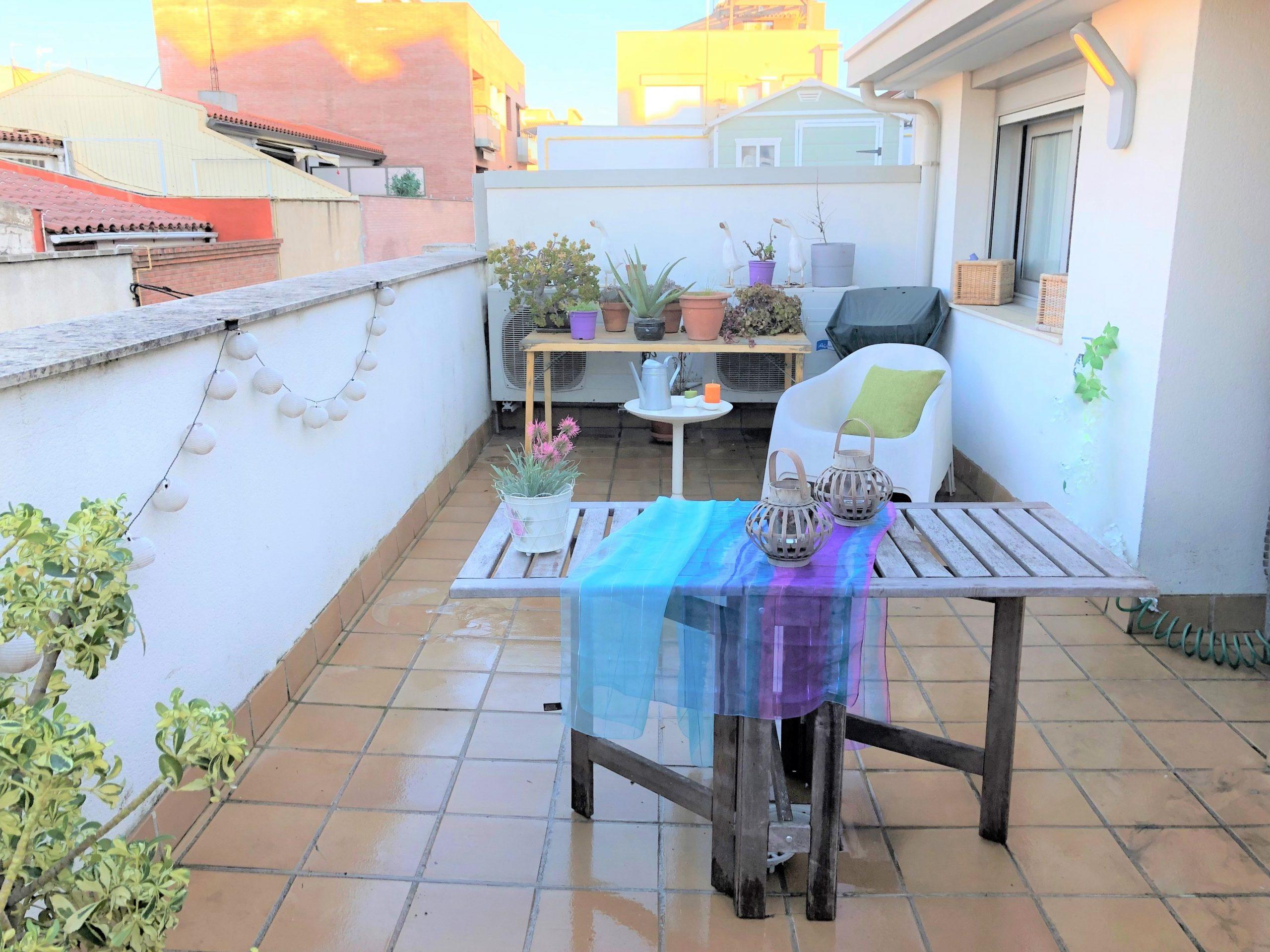 Impecable dúplex con gran terraza en Sant Pere Nord