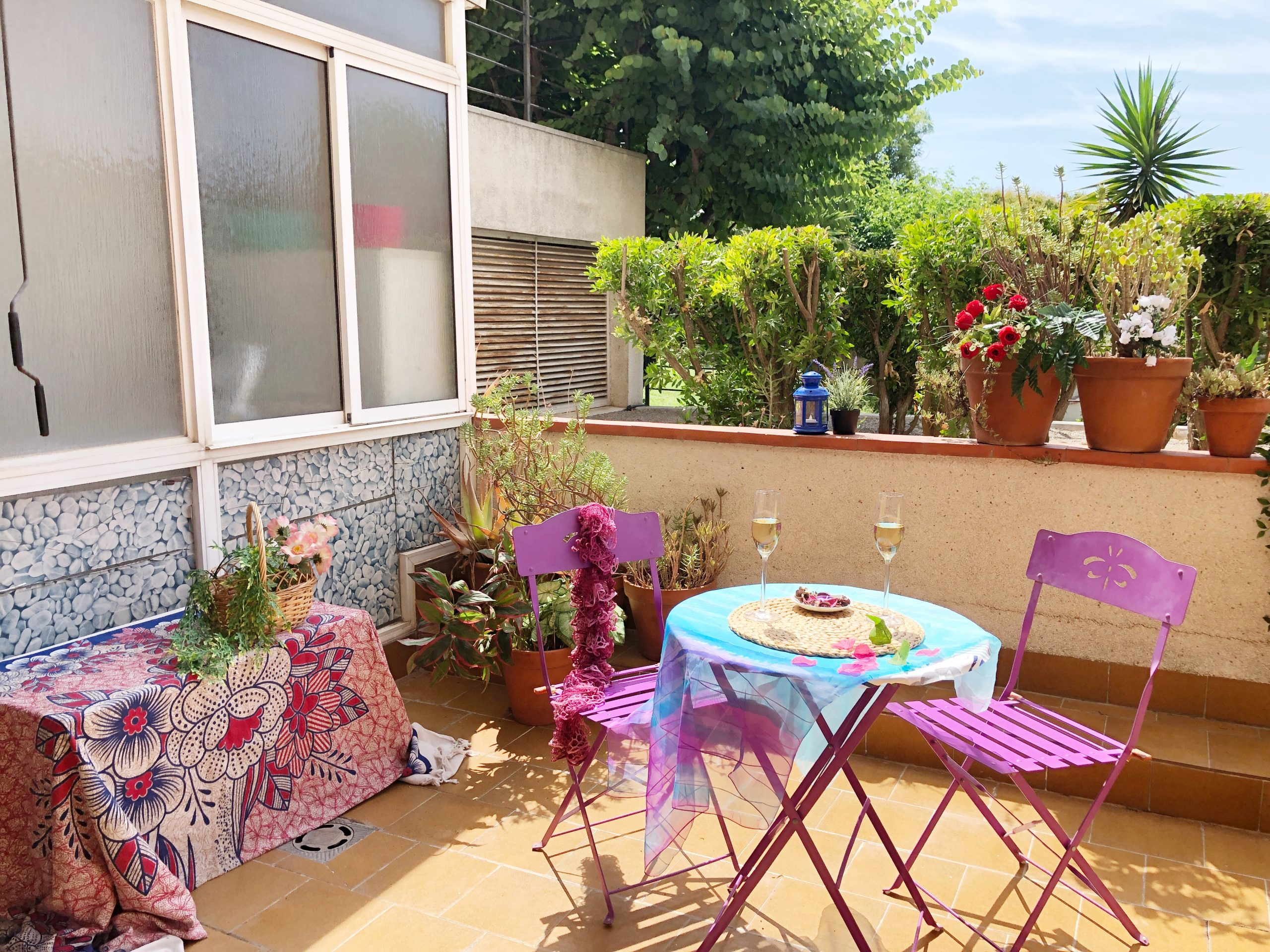Piso de 4h con terraza y zona comunitaria con piscina