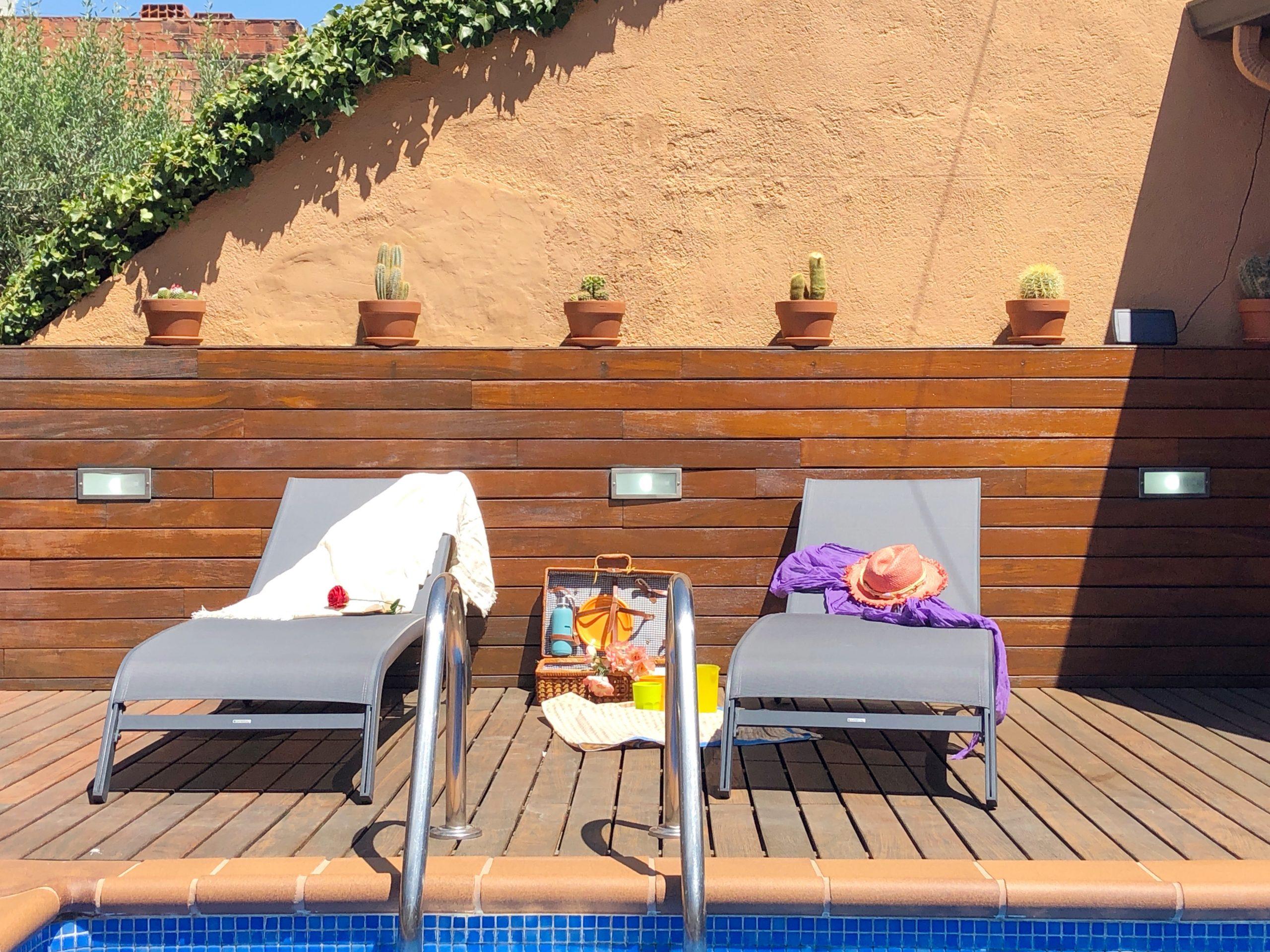 Casa con piscina, ideal para dos familias!!